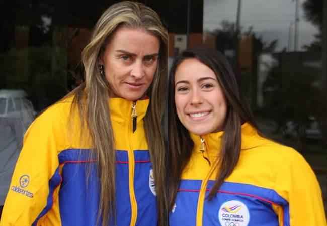 Maria Luisa Calle y Mariana Pajón las dos más importantes representantes del ciclismo